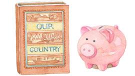 Artifact: Storybook & Piggy Bank
