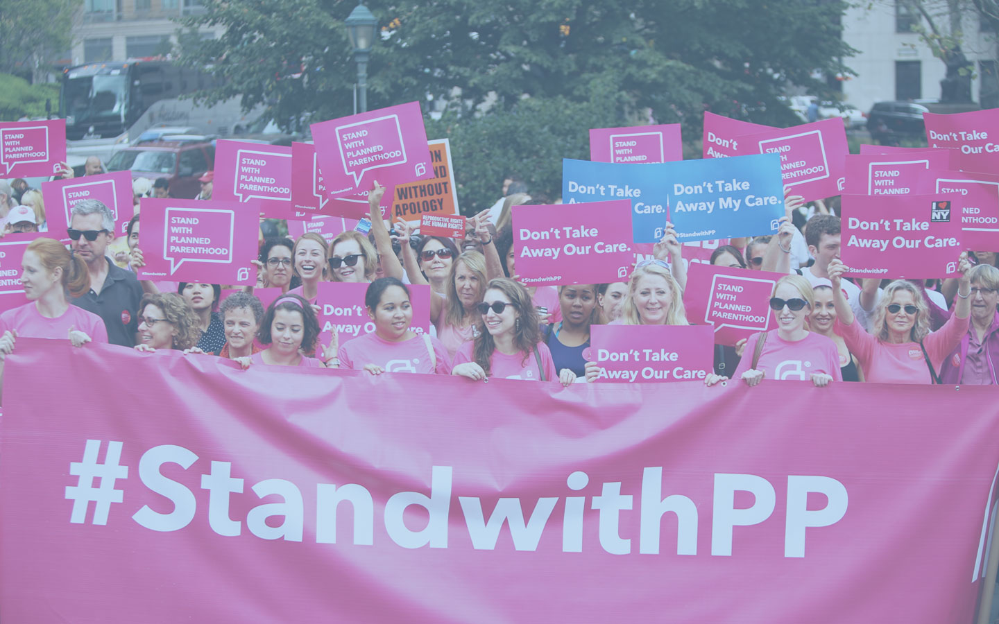 Planned Parenthood march