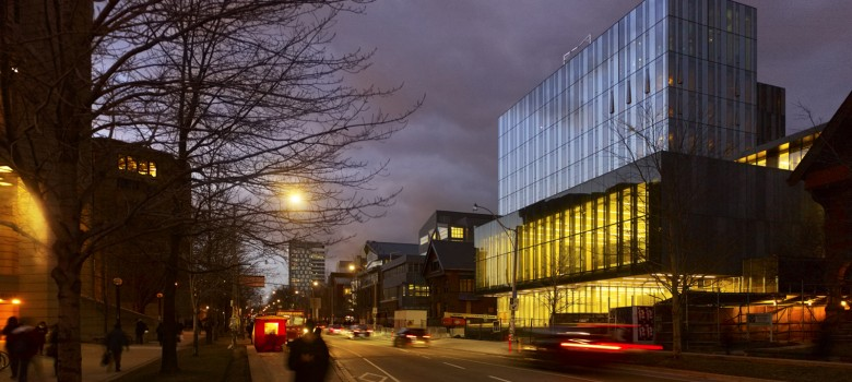 Rotman at night