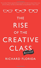 """Image of """"the rise of the creative class revisited"""" book cover"""