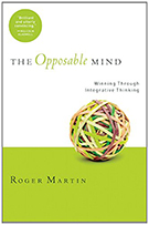 """Image of """"The Opposable Mind"""" book cover"""