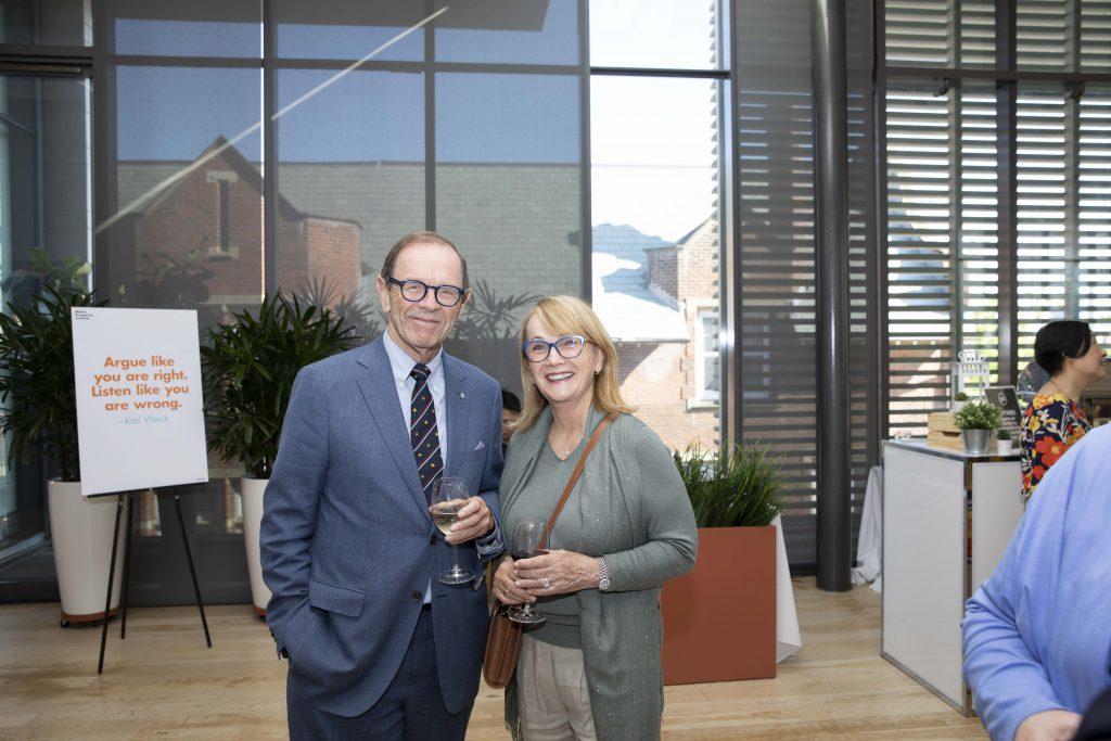 David Beatty and Mary Calder
