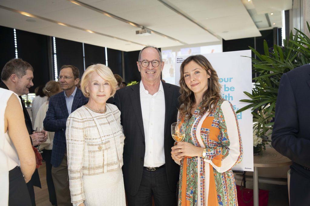 From left to right: Rose Patten, Roger Martin, and Lauren Jones
